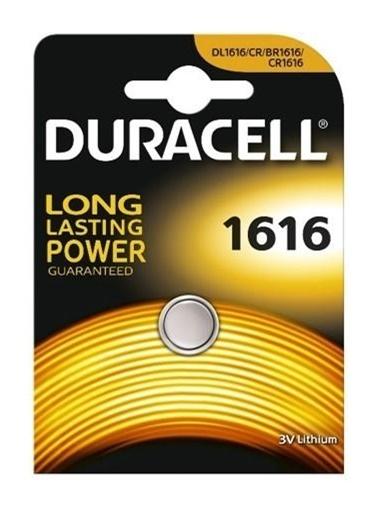 Duracell Düğme Pil 1616 Tekli 3 Volt Renkli